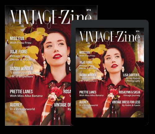 Vintage-Zine 4 cover - ipad